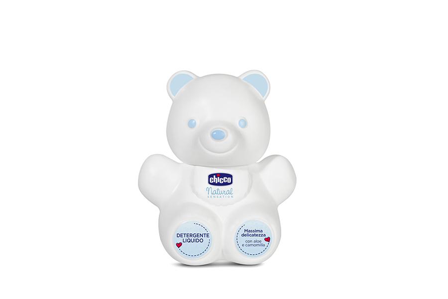 detergente liquido a forma di orso chicco